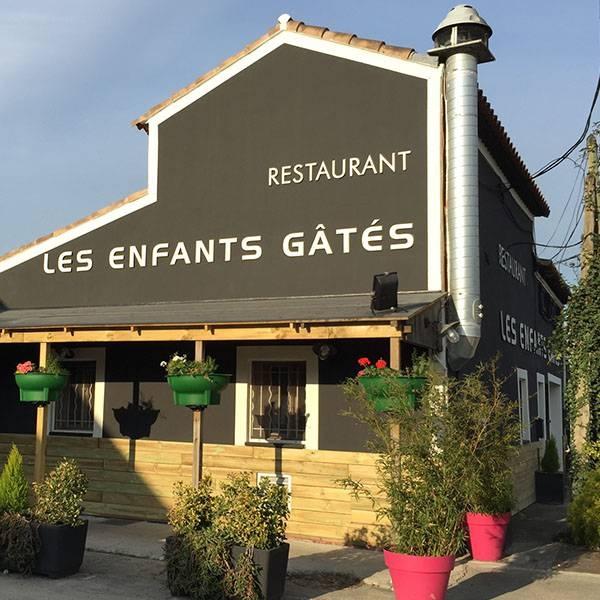 Le Restaurant - Les Enfants Gâtés - Restaurant Aubagne
